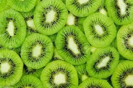 Fresh And Ripe Slices Of Kiwi Fruit ...