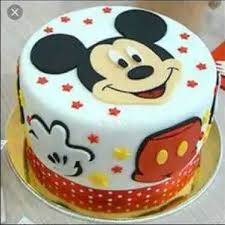 mickey mouse cake for parties shelf