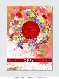 Free Holiday Photo Greeting Cards Merry Christmas Pattern Holiday Greeting Cards Stock Vector