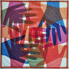 You cannot shake hands with a clenched fist | Crazy for Fiber & I loved it and filed the idea away and thought it would work well for what  I wanted to do for the racism quilt – a positive graphic of hands of ... Adamdwight.com
