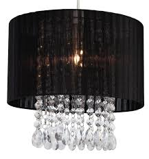 organza black lamp shade firstlight lighting firstlight organza black easy fit
