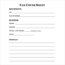 Fax Sheet Cover Sheet Download Sample Fax Cover Sheet Templates Every Last