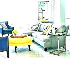 grey blue yellow living room navy and white yel