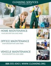 commercial cleaning flyer templates cleaning service flyer templates postermywall