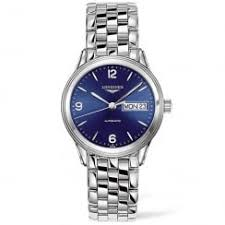 longines watches instore and online at berry s jewellers flagship 36mm blue day date dial men s bracelet watch