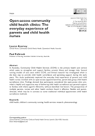 Jchc My Chart Pdf Open Access Community Child Health Clinics