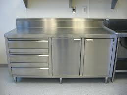 stainless steel commercial kitchen cabinets modern clean lines stainless steel kitchen cabinet stainless steel commercial kitchen