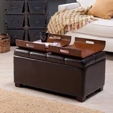 full size of storage ottoman with tray square black image of round cocktail ottomans and benches