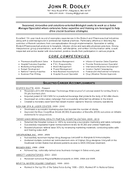 Resume Core Competencies Examples Beauteous Dooley John Sales Manager Specialist Resume Finalized