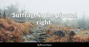 Susan B Anthony Quotes Adorable Susan B Anthony Quotes BrainyQuote