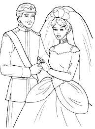 Small Picture Wedding Dress Coloring Pages Coloring Home