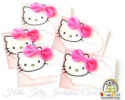 Hello Kitty Invitation Printable Hello Kitty Invitation Free Printable Hello Kitty Invitation