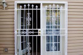 sliding glass door burglar bars stunning security screen doors ideas decorating 30