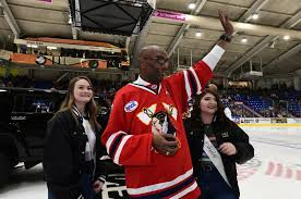 Charlie Johnson bobblehead, tribute draws large hockey crowd | News |  tribdem.com