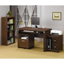 wood desks home office. Brown Wood Computer Desk Desks Home Office