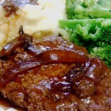mouth cube steak and gravy recipe