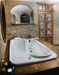 Master bath 2 person tub. Totally amazing! I would also take the more  attainable