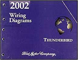 2002 ford thunderbird wiring diagram manual original amazon com books flip to back flip to front