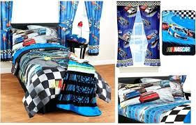 nascar bedding set kids girls boys bed in a bag comforter set 2 prints nascar twin