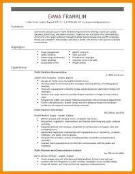 public relations sample resume resume for public relations public relations resume resume objective
