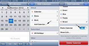 How To Create A Public Calendar On Your Iphone Calendar App