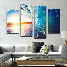 multi canvas wall art wave wall art the wave multi panel canvas wall art elephantstock 3 multi canvas wall art multi panel