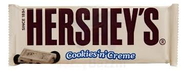 hershey white chocolate. Unique Chocolate HERSHEYu0027S COOKIES U0027Nu0027 CREME Candy Bars Offer The Best Of Both Worlds   Smooth And Creamy White Chocolate Taste With A Mouthful Cookie In Every Bite In Hershey White Chocolate I