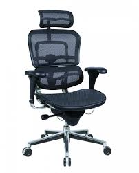 high back mesh office chair with leather effect headrest. ergohuman chairs...raynor me7erg all mesh high back chair with headrest office leather effect c