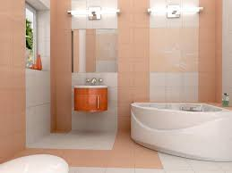 beautiful modern bathroom designs for small spaces with corner tube