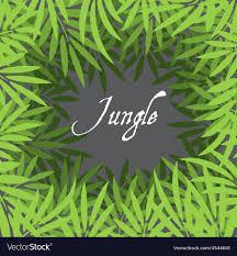 jungle background vector.  Jungle Jungle Background Vector Image On Background Vector G