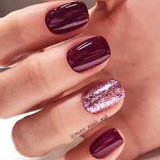45 Newest Burgundy Nails Designs You Should Definitely Try In 2019