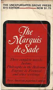 The Marquis De Sade Justine Philosophy In The Bedroom Eugene De