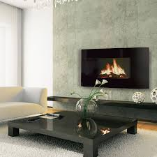 lcd electric fire zoom