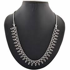 black metal jewellery. Simple Metal Multiline Company Oxidised Silver Black Metal Jewellery German  Tribal Necklace For Women To A