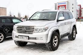 NOVYY URENGOY, RUSSIA - MARCH 9, 2016: Motor Car Toyota Land ...