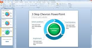 Powerpoint Chevron Template Free 3 Step Chevron Powerpoint Template
