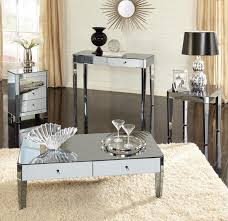 coffee table mirrored coffee table tables circl mirrored round coffee table