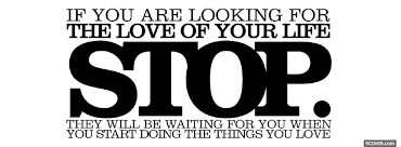 Looking For Love Quotes Interesting Stop Looking For Love Quotes Photo Facebook Cover
