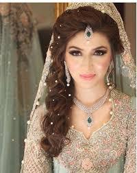stani bridal look i like the pearls in the hair my kinda pinte