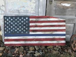 inspiring rustic wood blue line american flag pallet pict for wall decor concept and case