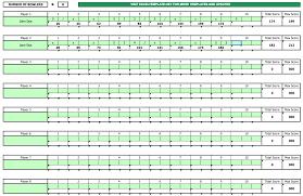 Bowling Score Sheet Exceltemplate Net