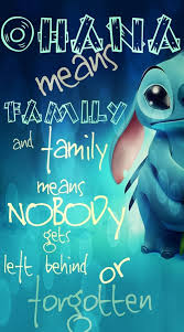 Ohana Means Family Quote Custom Ohana Means Family Discovered By SJNQuotes On We Heart It