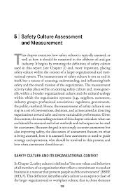 workplace values assessment 5 safety culture assessment and measurement strengthening the