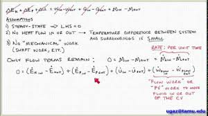 conservation of energy part 1 lecture 5 1 chemical engineering fluid mechanics