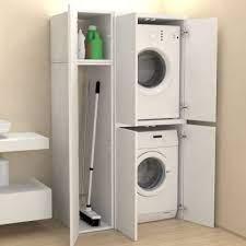 Claire tardy 10 février 2019 Meuble Colonne Compartiment Avec Portes Machine A Laver Buanderie