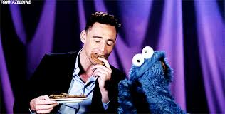 cookie monster tom hiddleston gif. Exellent Cookie K Tom Hiddleston Cookie Monster Hiddles Jan Error Message Someone Kill Me  These Gifs Took  With Cookie Monster Tom Hiddleston Gif N