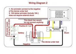 ammeter shunt wiring diagram wiring diagram and hernes ammeter wiring diagram get image about