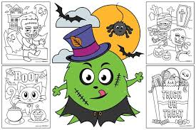 The cutest halloween printable pictures. Free Halloween Coloring Pages For Kids Or For The Kid In You