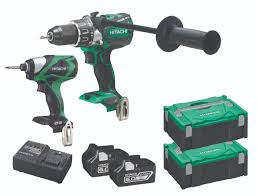 hitachi power tools. hitachi power tools launches extra battery offer on kc18dpl/ja and kc18dpl/jb two-piece kits