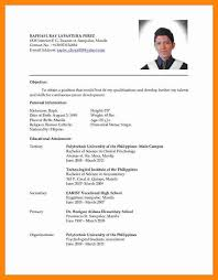 Ideas Collection Latest Resume Format Sample In Free